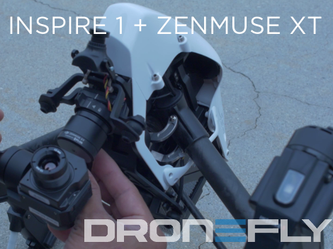 Inspire 1 with Zenmuse XT Combo Startup Guide