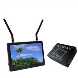 "Black Pearl 7"" Wireless 5.8ghz Monitor"