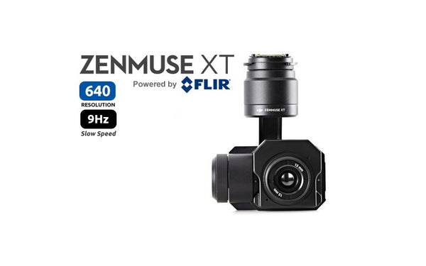 Zenmuse XT 640 Tau2 Slow Frame Rate 9Hz Thermal Camera [Radiometric Available]