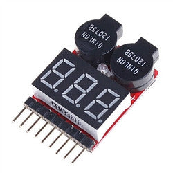 LiPo Battery Voltage Checker