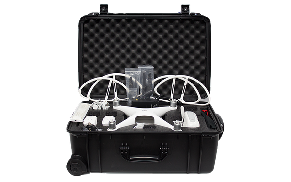 Phantom 4 - Custom Wheeled Case (Props On)