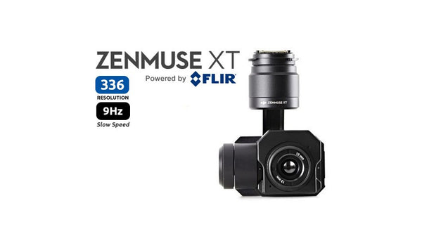 Zenmuse XT 336 Tau2 Slow Frame Rate 9Hz Thermal Camera [Radiometric Available]