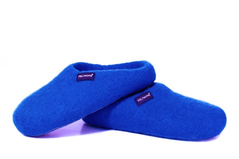 Heavenly Blue FELTMORE slippers