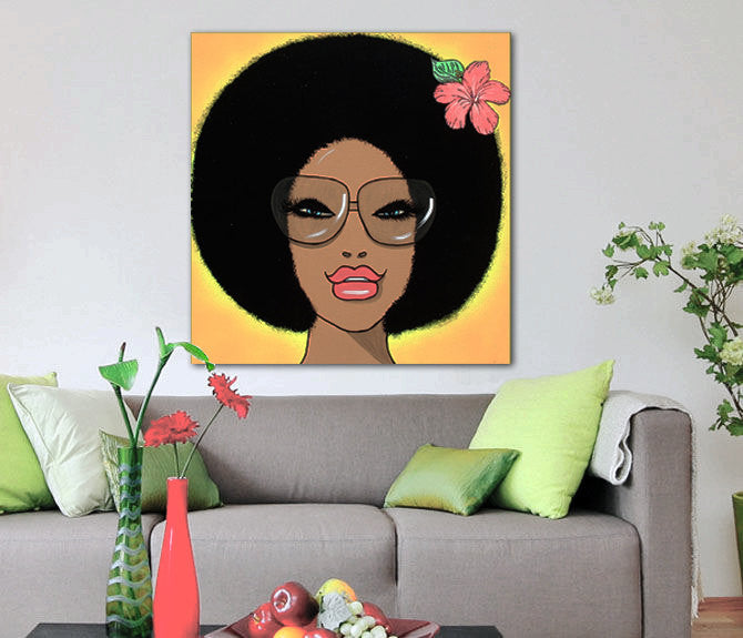 AFRO FLOWER GIRL - CERES