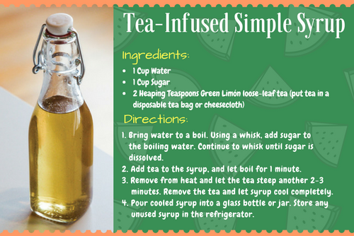 Tea-Infused Simple Syrup
