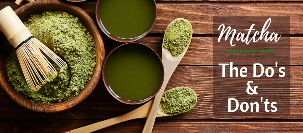 Matcha Do's & Don'ts - Silver Tips Tea