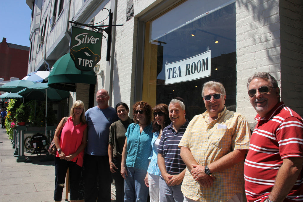 Silver Tips Tea Room Exterior: Group Photo