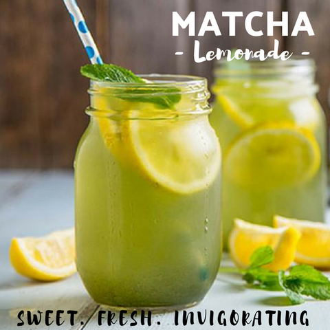 Matcha Lemonade - Silver Tips Tea Online Shop