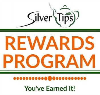silver tips tea loose tea rewards program