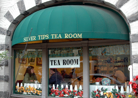 Silver Tips Tea Room, Tarrytown NY