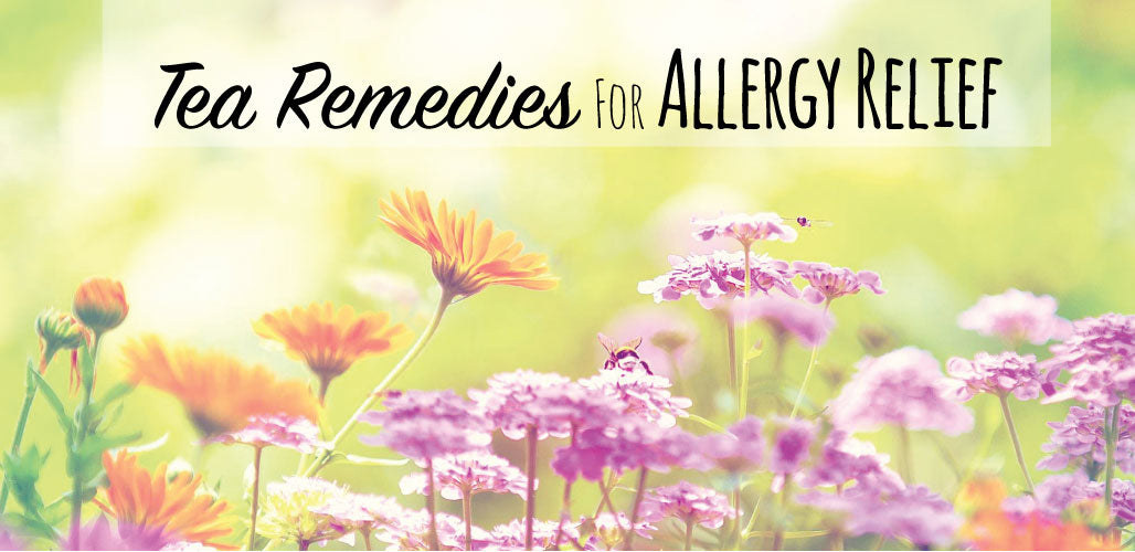 Tea Remedies for Allergy Relief