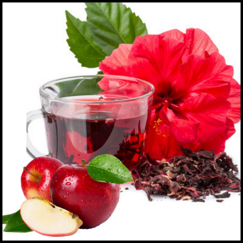 Hibiscus and Apple Tisanes - Silver Tips Tea Online Tea Store