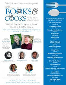 books and cooks poster