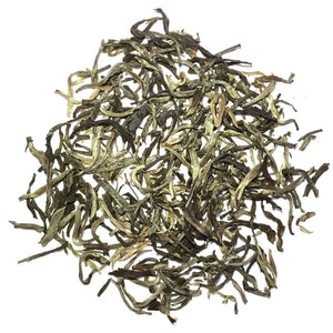 White Blossom Green - Silver Tips Tea's Organic Loose Leaf Tea