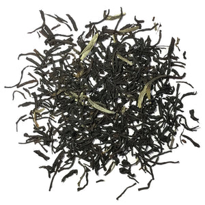 Czar Alexander - Smokey Black tea with Bergamot and sprinkled with silver needles - Silver Tips Tea's Loose Leaf Tea