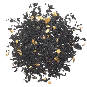 BLACK TEA WITH LEMON PEEL AND LEMON FLAVORING