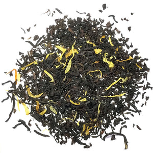 Organic black tea with natural mango flavoring