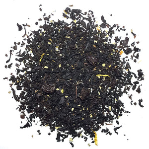 Creamsicle Black tea with apricot blackcurrant and vanilla- Silver Tips Tea's Loose Leaf Tea