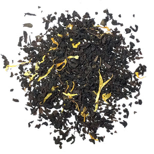 Passionfruit - Flavored Black Tea with Marigold Flowers - Silver Tips Tea's Loose Leaf Tea