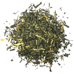 Green Passionfruit Tea - Green Tea with Passionfruit Flavor - Silver Tips Tea's Loose Leaf Teas