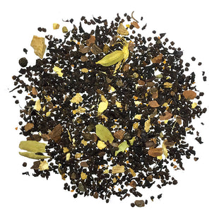 Organic Turmeric Chai - Black Tea with Turmeric, Ginger, Cinnamon and Pepper - Silver Tips Tea's Organic Loose Leaf Tea