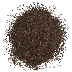 BLACK TEA WATER DECAFFEINATED, FINE PARTICLES