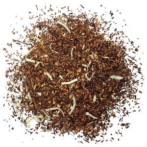 Organic Rooi Coconut - Organic Rooibos with Natural Coconut Flavoring - Silver Tips Tea's Organic Loose Leaf Tea