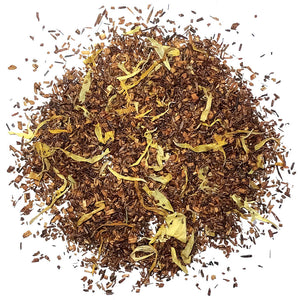 Organic Rooi Peach - Organic Rooibos with Natural Peach Flavoring - Silver Tips Tea's Organic Loose Leaf Tea