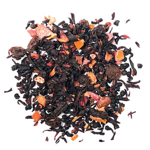 South Pacific - Fruit Tisane with Berries, sultanas, hibiscus, papaya, orange peels, flavoring, blackcurrants, passionfruit - Silver Tips Tea's Loose Leaf Tea