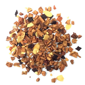 Toasted Almond - Apple, chipped almonds, cinnamon & beetroot pieces with flavoring - Silver Tips Tea's Loose Leaf Tea