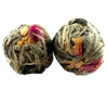 Double Happiness Flowering Tea - Silver Tips Tea's Loose Leaf Tea - 2