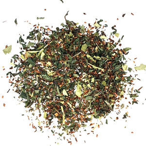 ROOIBOS, PEPPERMINT, EUCALYPTUS AND ORANGE BLEND
