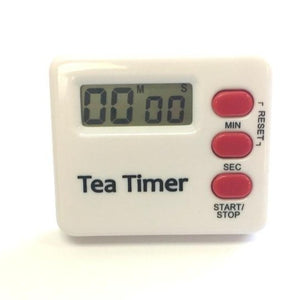 TIMER TO HELP STEEP THE PERFECT CUP OF TEA