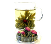 Jasmine Globe in mug - a pink globe amaranth infused with jasmine - Silver Tips Tea's Loose Leaf Tea