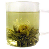 Lotus Jasmine - Green flowering tea with a jasmine flower, opens up into a lotus shape - Silver Tips Tea's Loose Leaf Tea