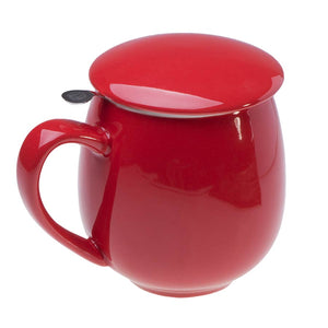 Saara Mug, Red - Silver Tips Tea's Teapots/Mugs/Cups