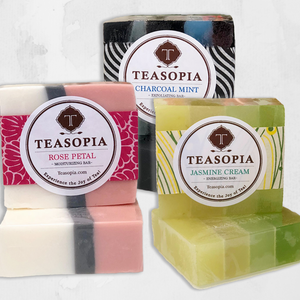 Tea Soaps - Body Soaps Scented with Tea - Silver Tips Tea's Gifts