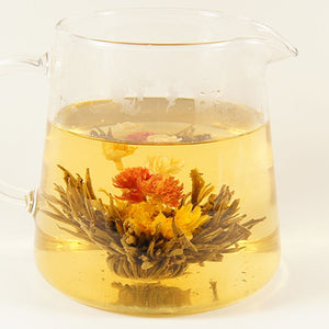 Double Happiness Flowering Tea - Silver Tips Tea's Loose Leaf Tea - 1
