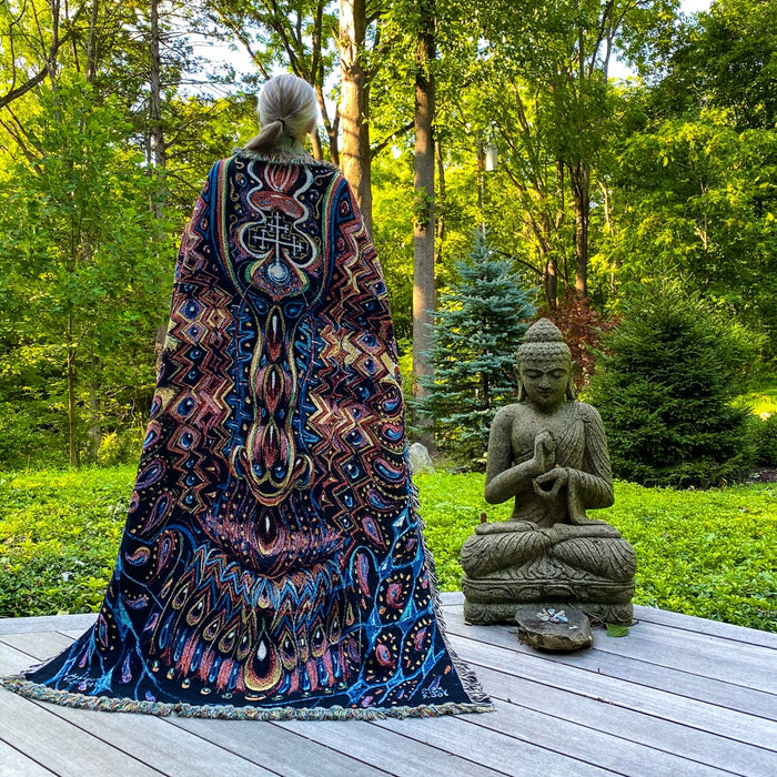 OUT OF STOCK - Ayahuasca Visitation - Limited Release Art Blanket