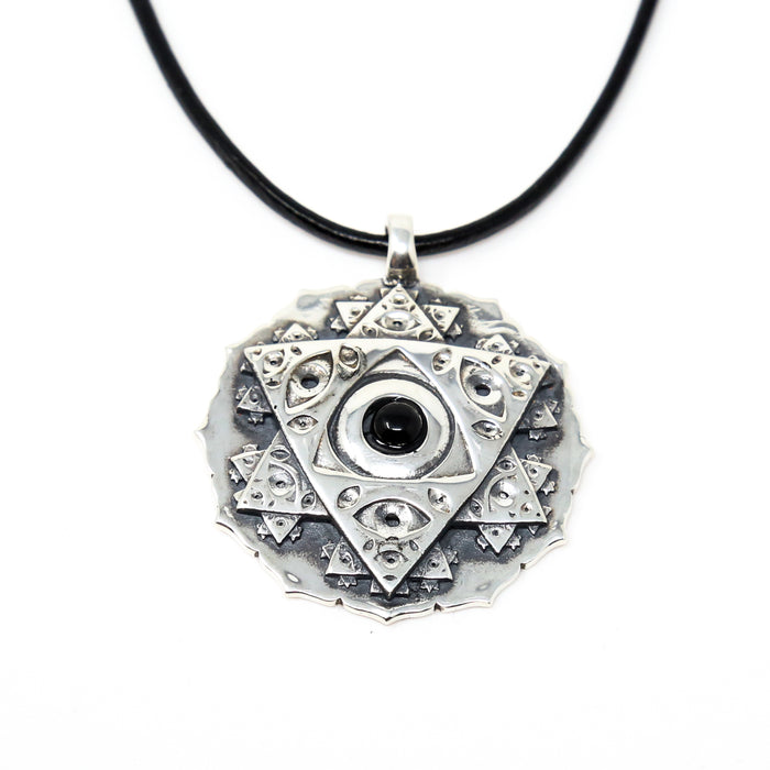 Vision Crystal - Onyx Pendant