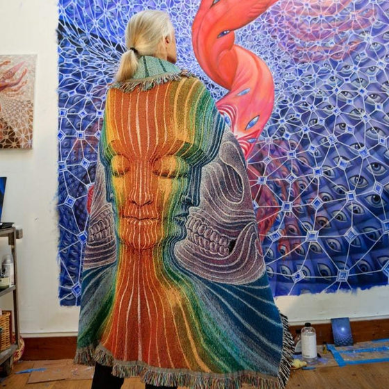 OUT OF STOCK - Interbeing- Limited Release Art Blanket