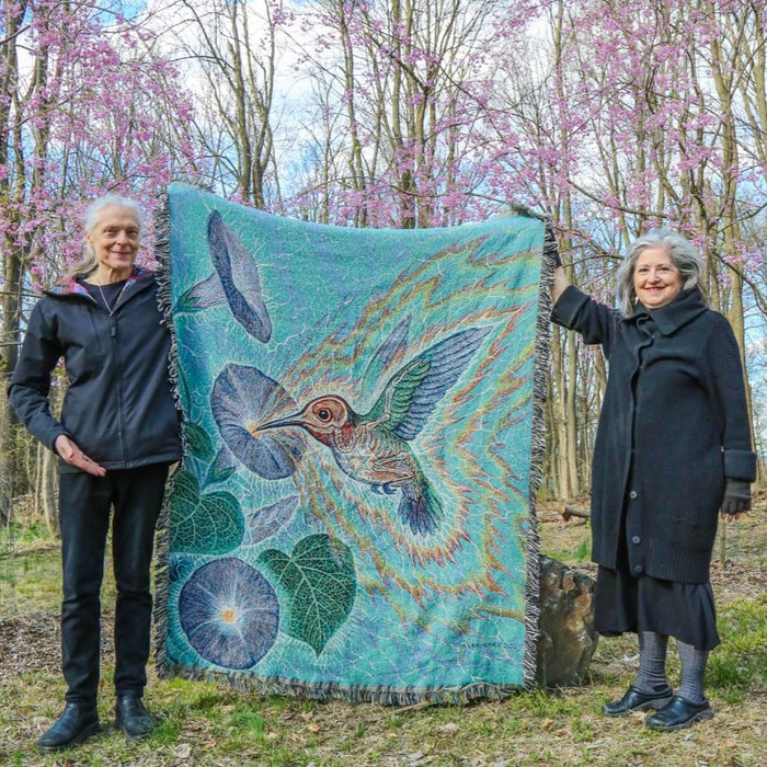 OUT OF STOCK - Hummingbird - Limited Release Art Blanket