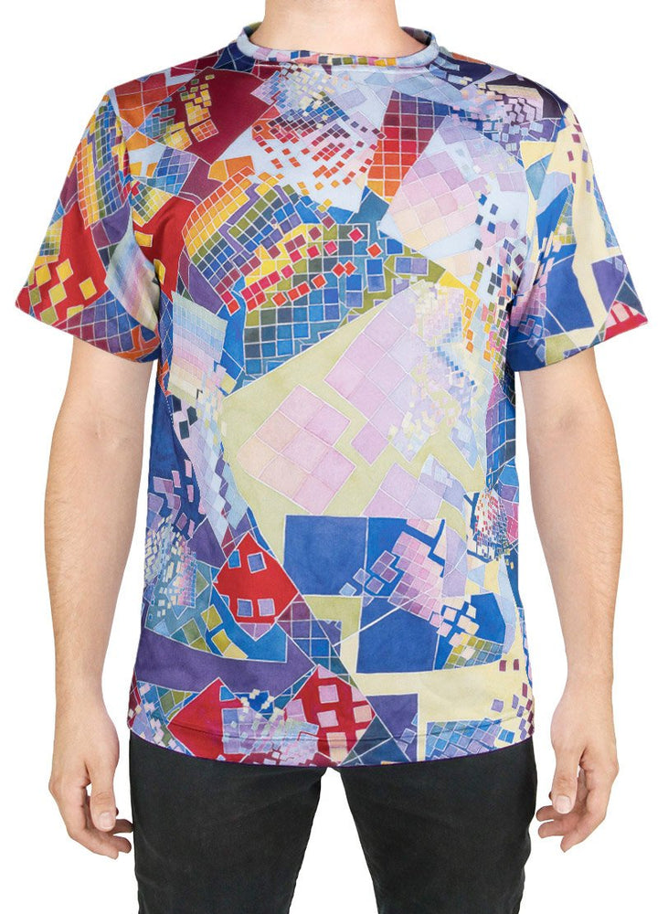 Blue Chaos Swatch T-Shirt