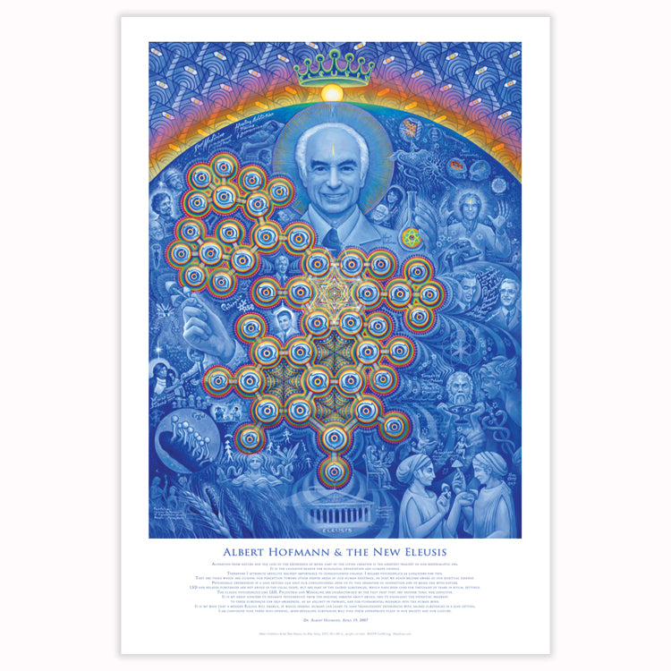 Albert Hofmann & the New Eleusis - Poster