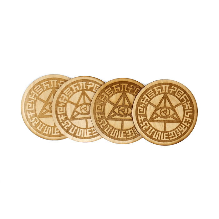 Mystic Eye Coasters