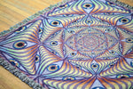 Rainbow Eye Ripple - Limited Release Art Blanket