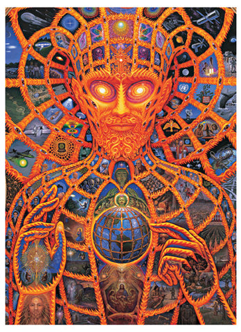 Cosmic Christ - Notecard