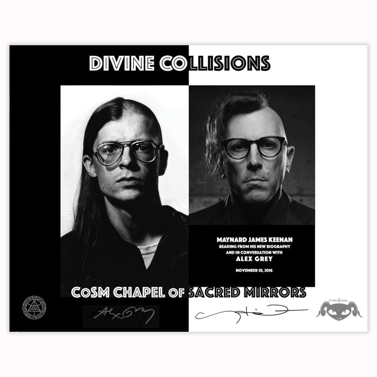 Divine Collisions - Signed Poster