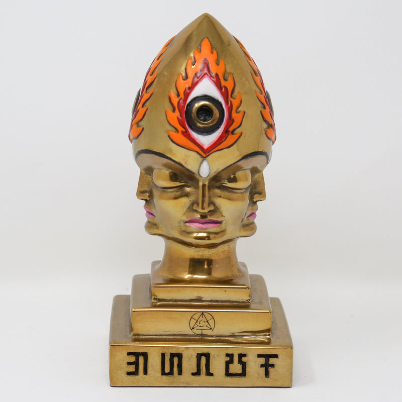 Hand Painted Bronze CoSM Steeplehead