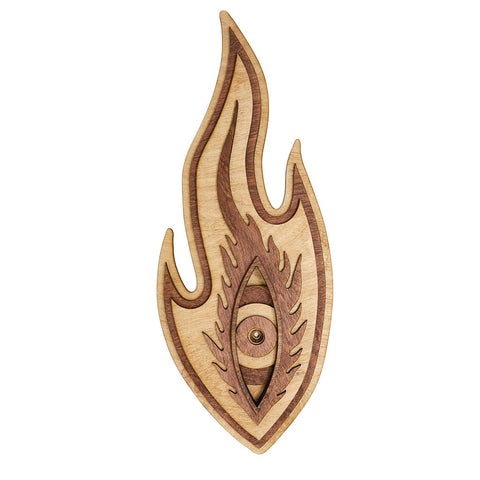 Flaming Eye - Wall Plaque